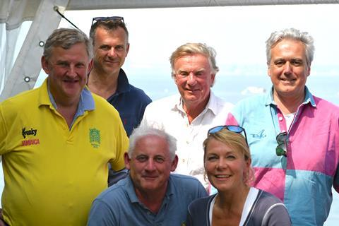 Winning team: the House of Commons Yacht Club